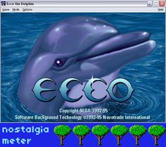 Ecco The Dolphin 90s Games, First Person Shooter Games, 90s Kids, Dolphins, Nostalgia, Childhood, Bring It On, Memories, Microsoft Word