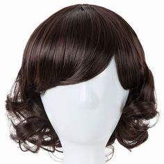 Synthetic None-lacewigs Black Wigs Fei-show Synthetic Heat Resistant Fiber Wavy Child Hair Light Brown 44 Cm Head Circumference For 4-10 Year-old Girls Hair Extensions & Wigs