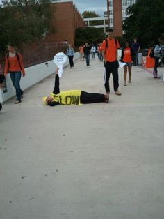 Can't help but laugh at some of the shenanigans on Clemson campus