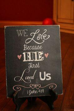 15 Romantic Chalkboa