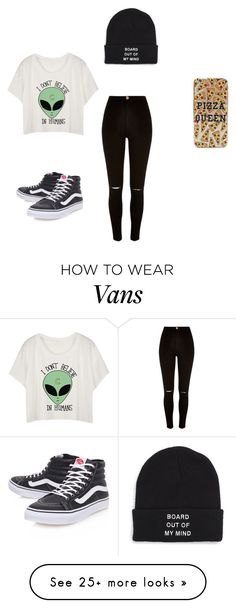 """""""Alienx"""" by paitynsanerd on Polyvore featuring River Island and Vans"""