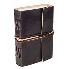 FC Fair New Fairtrade Leather 3 String Notebook ($25) ❤ liked on Polyvore featuring home, home decor, stationery, books and accessories