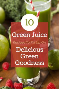 Fresh green juices can offer the perfect nutrient pick-me-up when you're feeling under the weather or after an intensive workout. Here are my 10 best green juice recipes to fill you up with delicious green goodness... Healthy Blender Recipes, Healthy Holiday Recipes, Raw Vegan Recipes, Beef Recipes, Whole Food Recipes, Vegan Meals, Best Green Juice Recipe, Green Juice Recipes, Healthy Carbs