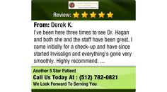 I've been here three times to see Dr. Hagan and both she and the staff have been great. I...