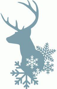Silhouette Design Store - Ansicht Entwurf # 68.965: Winter Rehe