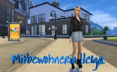 Sims 4 Welt Story – Mitbewohnerin Helga | nowa24 Sims Blog The Sims, Sims 4 Stories, 4 Story, Blog, Blogging