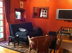 Living room - Charm in the Heart of Historic Rome -  - rentals