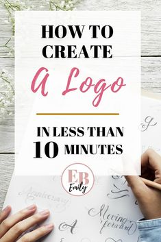 Create logo design - How to create an AWESOME logo (for free) – Create logo design Create A Business Logo, Creating A Business, Business Logo Design, Creating A Brand, Business Tips, Llc Business, Bakery Business, Business Essentials, Business Logos