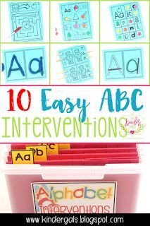 10 Easy Alphabet Int