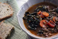 kale & lentil soup — whats cooking good looking