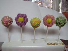 Spring themed Cake Pops