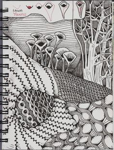 The Zentangle® art form and method was created by Rick Roberts and Maria Thomas…