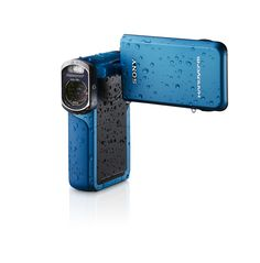 The newest addition to our Handycam family. It's waterproof down to 16 feet!