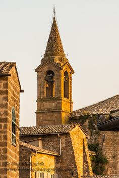 San Giovanni bell tower, Orvieto