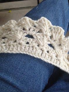 Work in progress... Future infinity scarf.