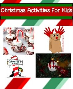 Christmas Activities For Kids Christmas Activities For Children