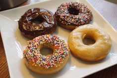 Baked Vegan Doughnuts