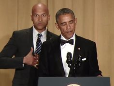Obama And Luther His Anger Translator Shred Fox News At White House Correspondents' Dinner