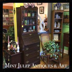 Find us on FaceBook: Mint Julep Antiques & Art  47 E. Queens Way ~~ Hampton, VA 23669 (757) 870-2195 ~~ www.mintjulepantiques.com ~~