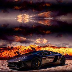 Holy Aventador Batman! #ItsWhiteNoise #Lamborghini #Batventador  @wes.photography