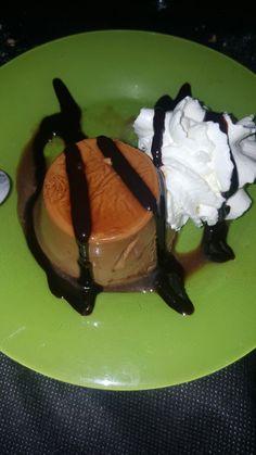 Flan de café.....del restaurante Muiño da Conda de Cobas. Meaño.