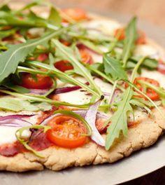 Gluteeniton Teff-pizza