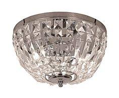 Plafondlamp Solliden, zilver, Ø 36 cm