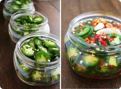 Homemade Pickled Jalapenos, i have gazillions of jalapenos in my garden, this looks glorious!
