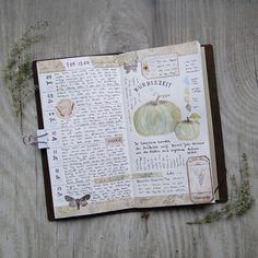 week 37 in my #midoritravelersnotebook #travelersnotebook #midori #artjournal…