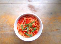 Scarpetta Naked Tomato Sauce (Secret ingredient? Butter!)