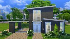 Modern Domicile - #modern #domicile #house #home #family #familyhouse #brick #villa #mansion #colourful #pool #smalllot #small #nocc #ccfree #nomoo #totallysims