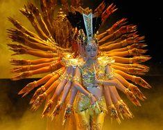 GUAN YIN. MdM104. China. Danza de las mil manos.