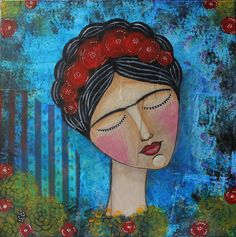 Love, Disney Characters, Fictional Characters, My Arts, Disney Princess, Painting, Amor, Painting Art, Paintings