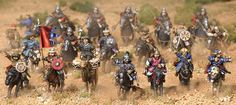 Mongol Cavalry Scenery, Miniatures, Beaded Bracelets, Russia, Gaming, Videogames, Landscape, Pearl Bracelets, Game