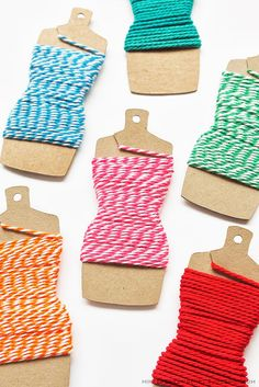 DIY: dressform embroidery thread holders (free printable template)