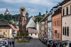 Banská Štiavnica and the Technical Monuments in Its Vicinity (Slovakia) Travel Around The World, Around The Worlds, Central And Eastern Europe, Bratislava, World Heritage Sites, Small Towns, Travel Destinations, Vacation Travel, Street View
