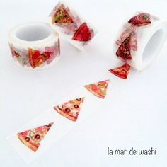 Washi Tape pizza, would you believe it????