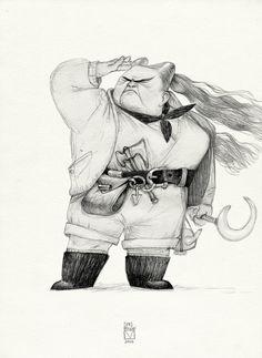 Sketchtober | 027 by BladMoran on DeviantArt