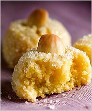 Almond-Lemon Macaroons (Almendrados) | NYT - March 28, 2007