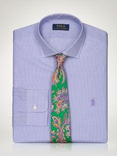 Slim-Fit Checked Estate Shirt - Polo Ralph Lauren Slim-Fit - RalphLauren.com