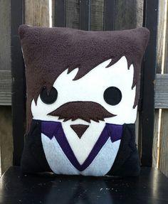 Sirius Black pillow plush cushion by telahmarie on Etsy, $30.00