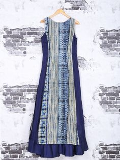 Shop Blue color cotton fabric festive kurti online from G3fashion India. Brand - G3, Product code - G3-WKU1152, Price - 5995, Color - Blue, Fabric - Cotton,