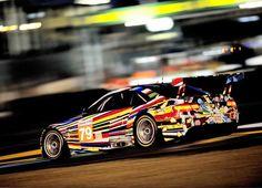 BMW art car #ultimate go faster #stripes