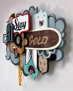 Alex Yanes sculpture via Supersonic Electronic