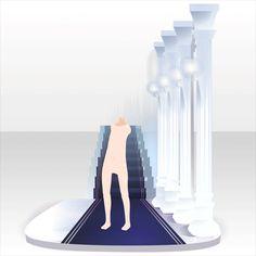 アクセサリ/背中系 閑静な城の秘密の場所 ホワイト