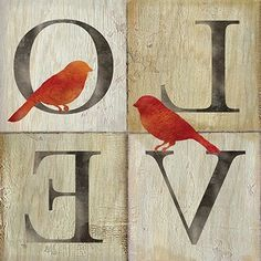 Live/Love Bird II (Cynthia Coulter)