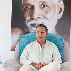 """The Guru is a mirror without dust without stains; a mirror of a light cleaning in which you see yourself in which you find yourself in which you get rid of all illusions. The Guru is always this space out of moment at this """"now"""" with no time. In Darshan in this mirror you can confirm That. When you realize It there is no longer """"you""""; the mirror is broken and with it the reflection too. And then everything is one. This 'thing' is not a thing it is the Space of all things. That is why this is…"""