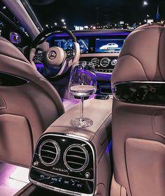 Boss lady - Boss ride ❤️ Via  Luxury Sports Cars, Top Luxury Cars, Luxury Cars Interior, Luxury Auto, Mercedes Interior, Pink Car Accessories, Lux Cars, Pretty Cars, Mercedes Car