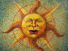 Easel Tides: Gail Allen's Painting and Creativity Journal: The Sun King (CBS Sunday Morning Sun Art)