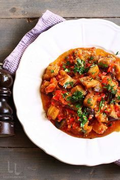 Ratatouille, Curry, Food And Drink, Ethnic Recipes, Google, Eggplants, Salads, Curries